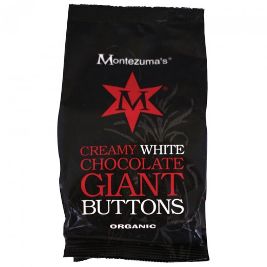Organic Creamy White Chocolate Giant Buttons