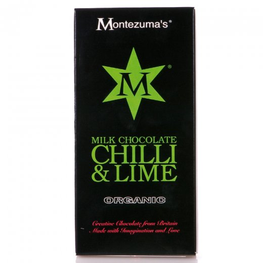 Organic Milk Chocolate Chilli & Lime Bar