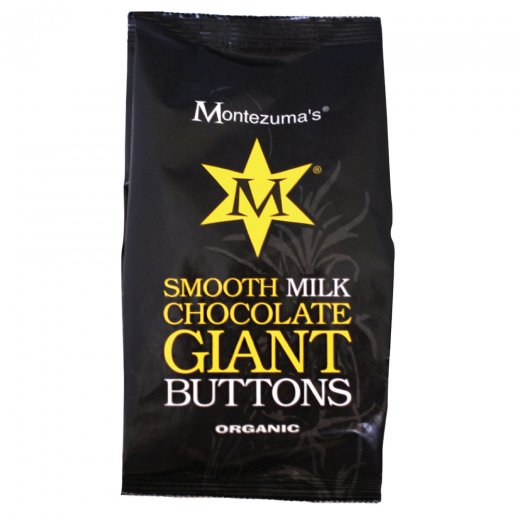 Organic Smooth Milk Chocolate Giant Buttons