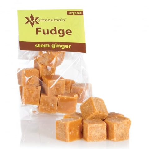 Organic Stem Ginger Fudge