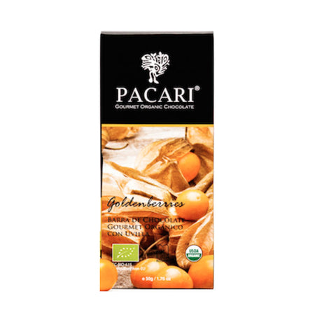 Pacari 60% Organic Chocolate with Golden Berries
