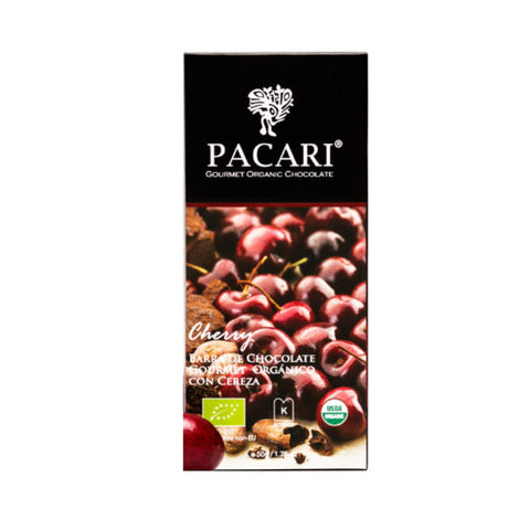 Pacari 60% Organic Chocolate with Cherry