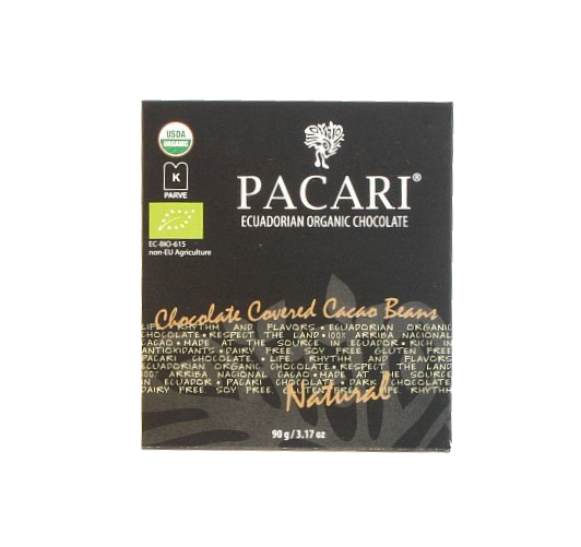 Pacari Chocolate Covered Cocoa Beans
