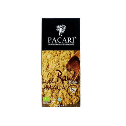 Pacari 70% Raw Chocolate with Maca