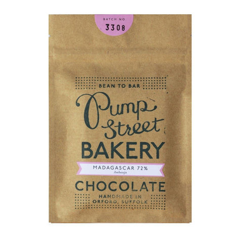 Pump Street Bakery 72% Madagascar Dark Chocolate