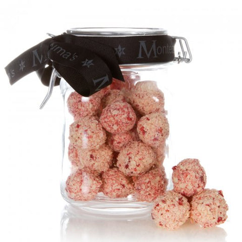 Strawberry Champers Jar Bar