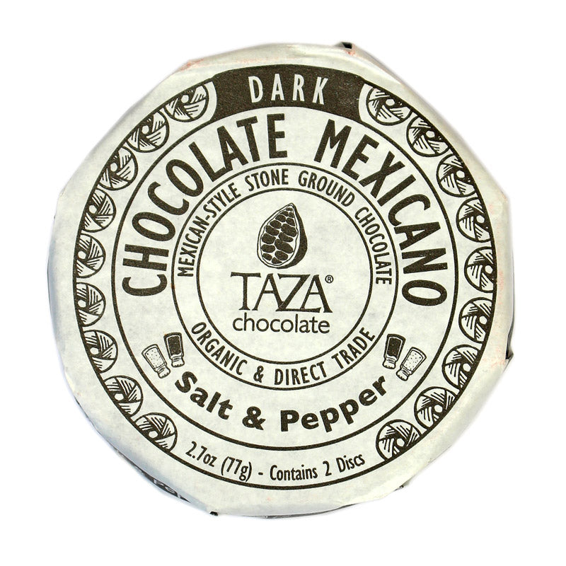 Taza Chocolate Mexicano Salt & Pepper
