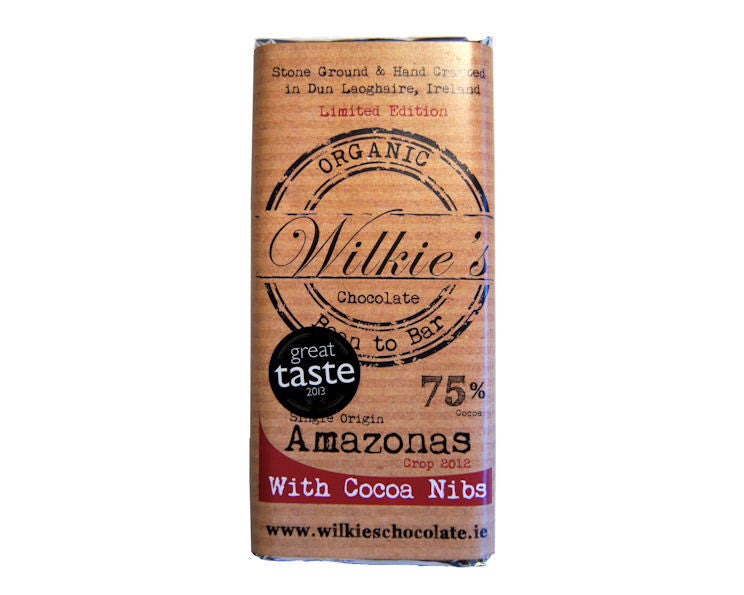 Wilkie's Amazonas 75% with Cocoa Nibs