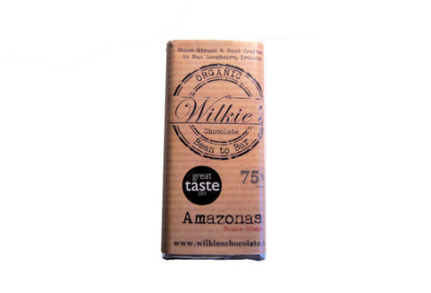 Wilkie's Amazonas 75% Dark Chocolate