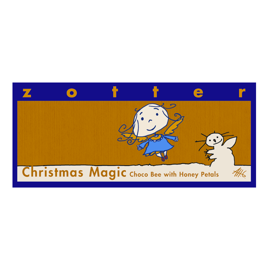 Zotter Christmas Magic White Chocolate