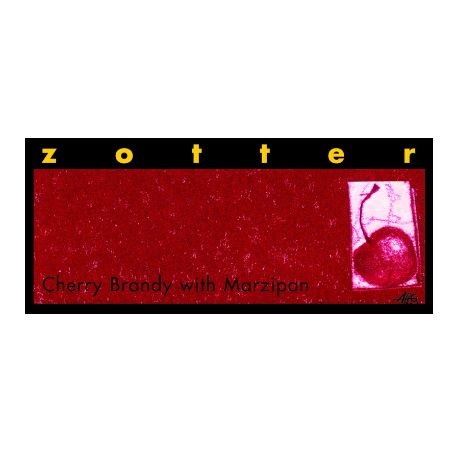 Zotter Cherry Brandy and Marzipan