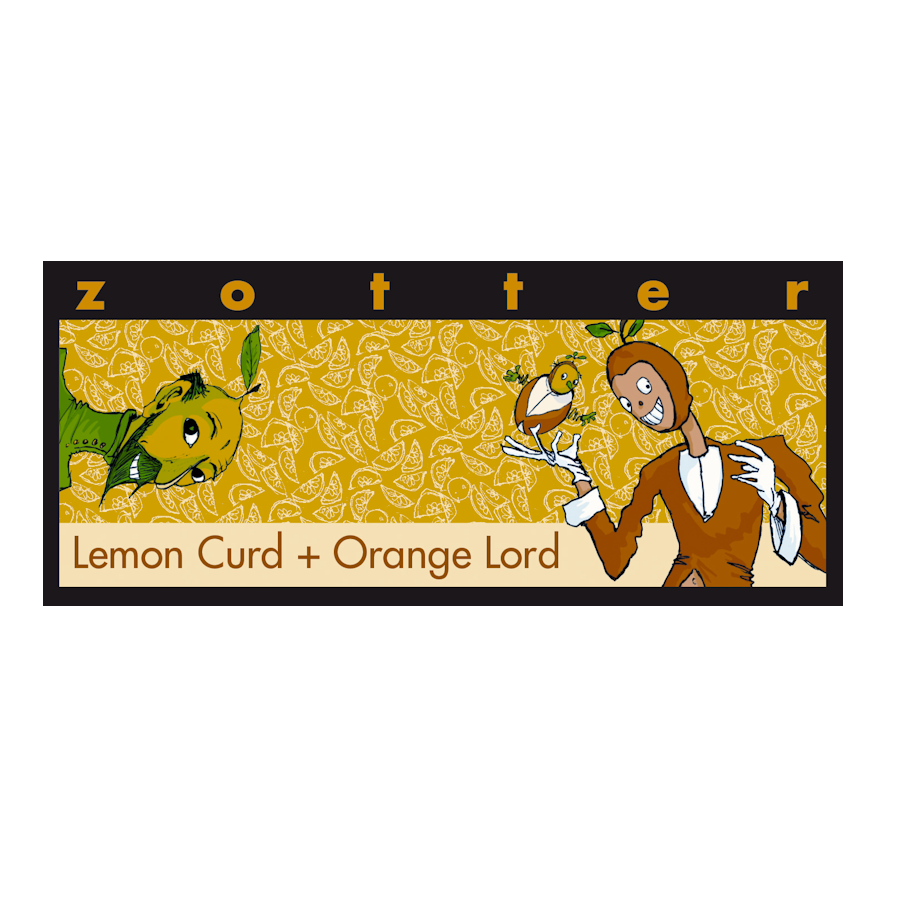 Zotter Lemon Curd & Orange Lord