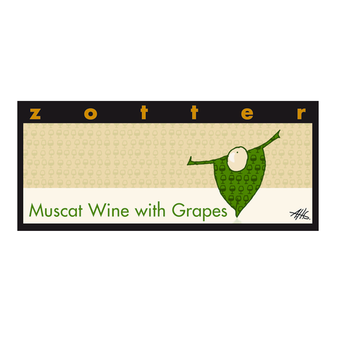 Zotter Muscat Wine with Grapes