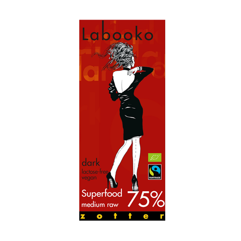 Zotter Labooko 75% Superfood