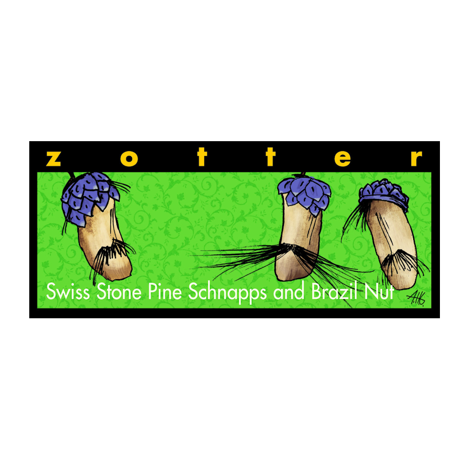 Swiss Stone Pine Schnapps and Brazil Nuts