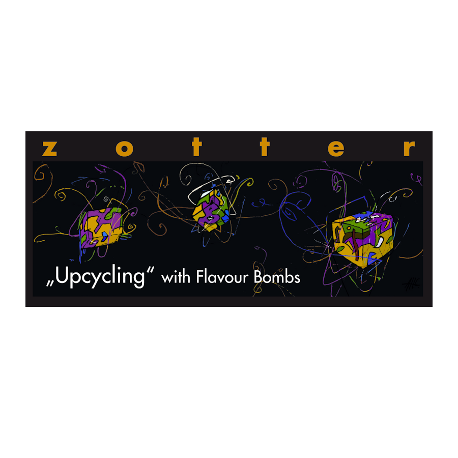 Zotter Upcycling with Flavour Bombs