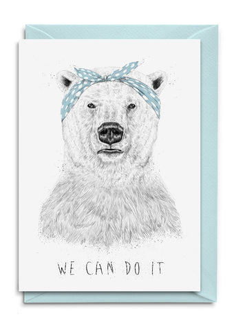 We can do it Postkarte