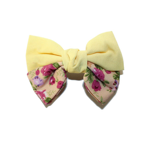 Jane Hair Clip - Yellow