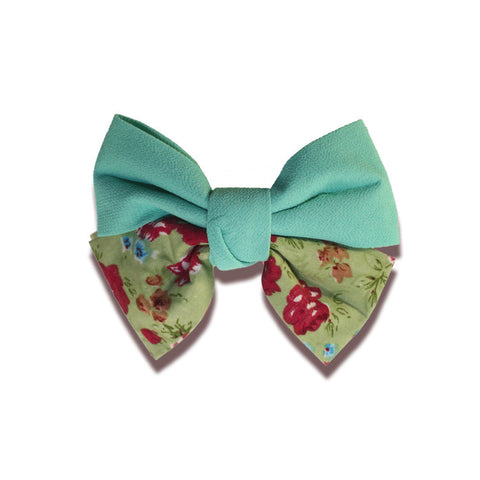Jane Hair Clip - Green