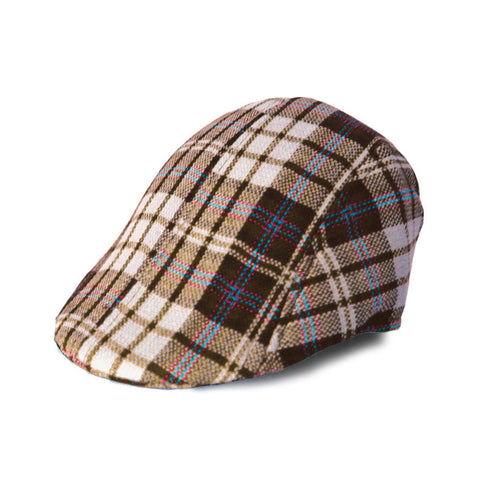 Newsboy - Brown Plaid