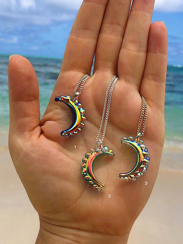 SALE - Aura Mini Moon Necklaces