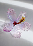 Glass Hibiscus Flower #1