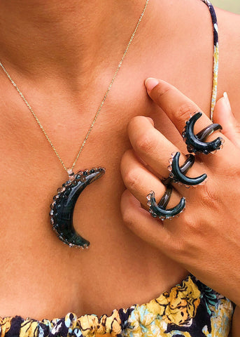 Black Moon Rings for BLACK LIVES MATTER