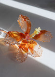 Glass Hibiscus Flower #3