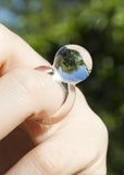 Glass Orb Ring