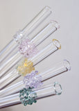 Glass Cluster Straws