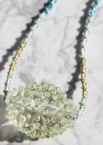 One of A Kind // Dotted & Knotted Bead Necklace