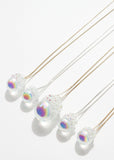 Aura Crystal Ball Necklace - Large