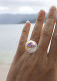 Aura Large Orb Ring - Size 7