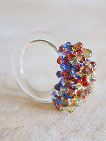 Glass Cluster Ring - Primary