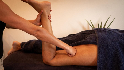 Martha Perry Leg massage at home