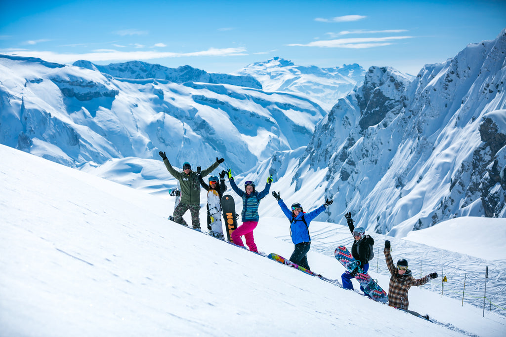 Mint Girls Snowboarding Camp Avoriaz