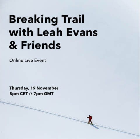 Patagonia Breaking Trail with Leah Evans Event