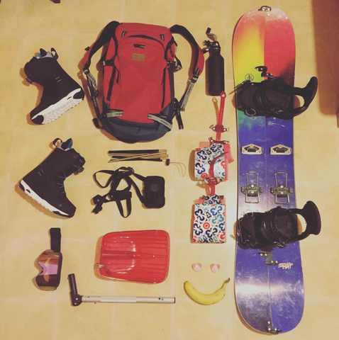 Splitboarding kit