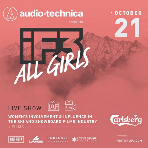 IF3 festival All girls Event poster