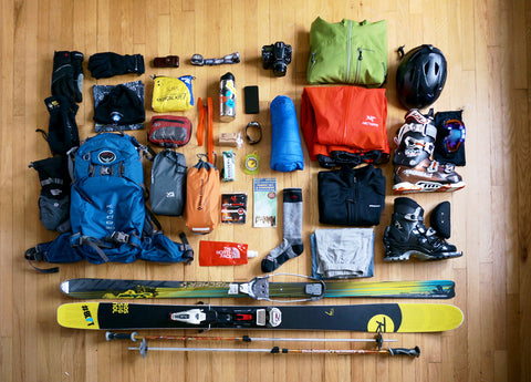 Ski Touring backpack essentials