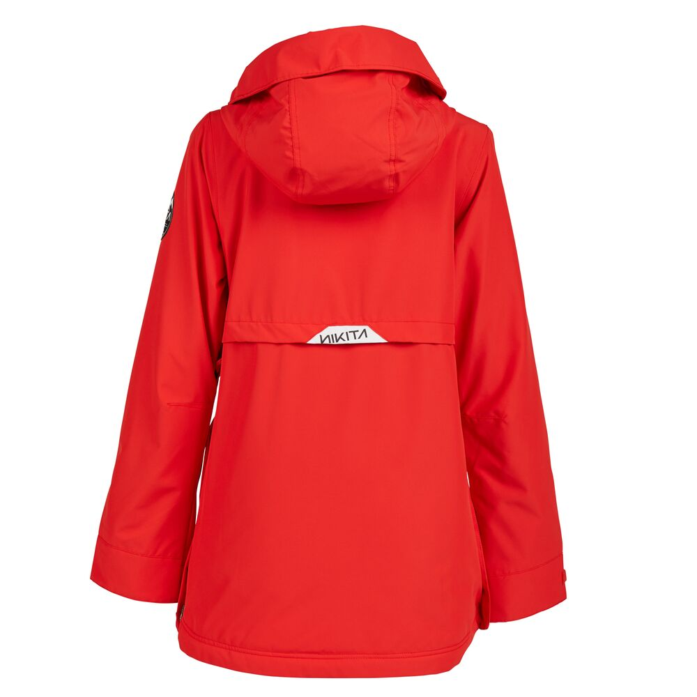 Nikita Hemlock Womens Snowboard Jacket Red - Latitude