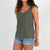 Passenger Clothing Womens Baobob Vest Dark Forest - Latitude