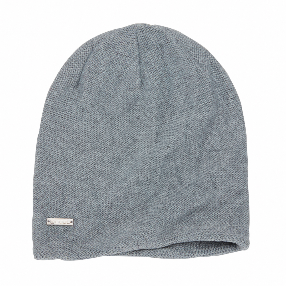 Coal Ella Beanie in Heather Grey