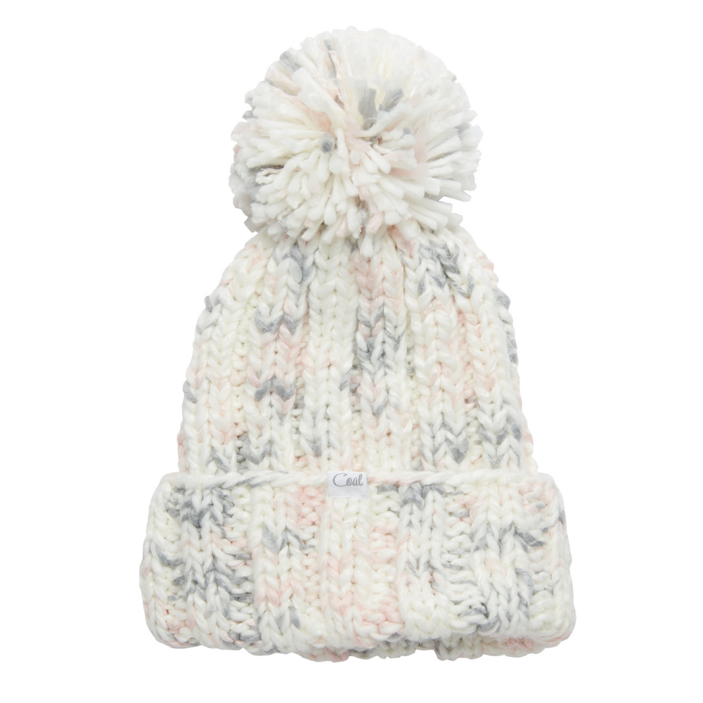 Coal Opal beanie in White