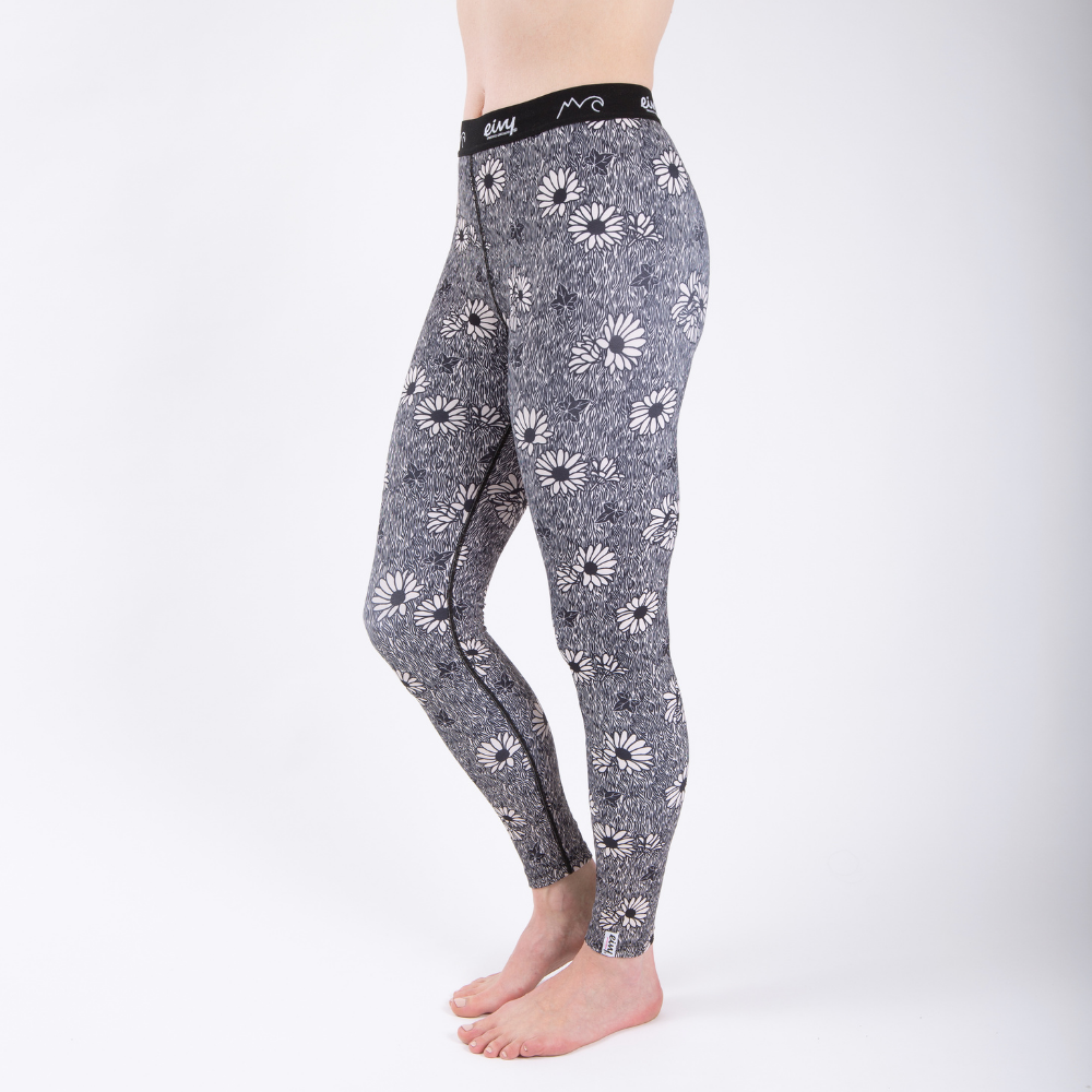 base layer tights ivy blossom