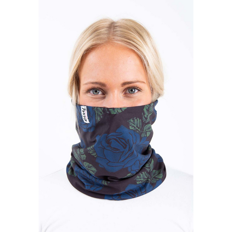 Eivy Ski Neck Warmer Blue - Latitude