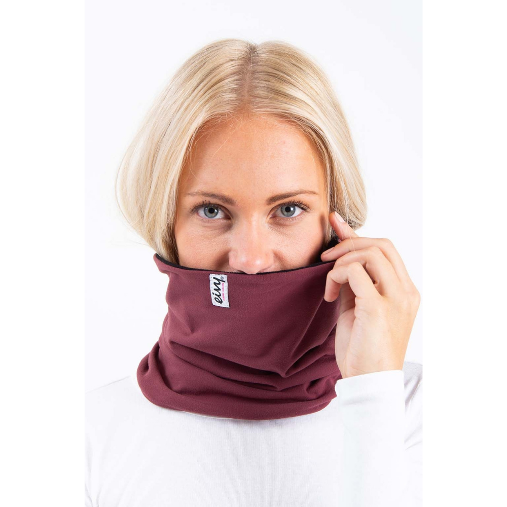 Eivy Womens Neckwarmer Colder Wine - Latitude