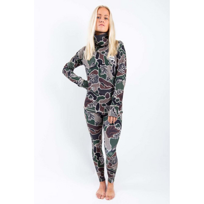 Eivy Womens Camo Landscape Base Layer Top - Latitude