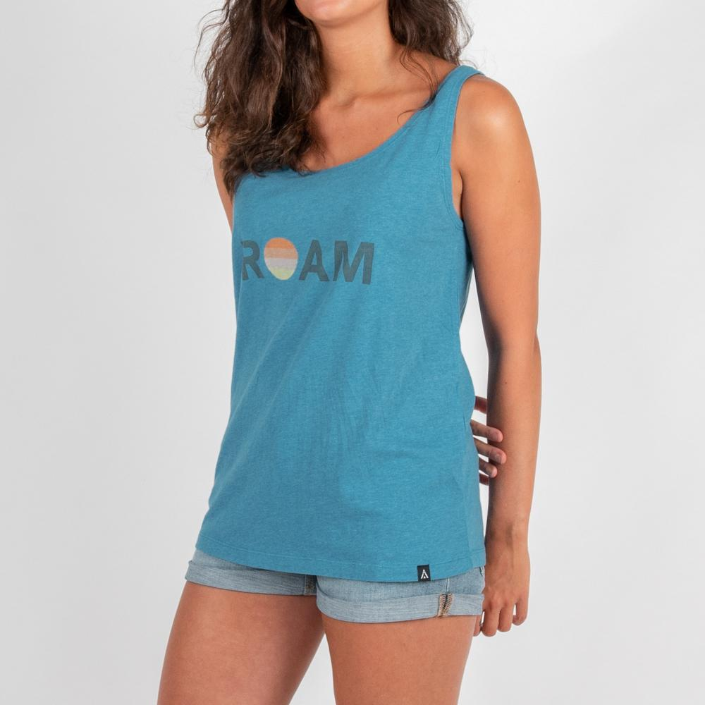 Passenger Clothing Womens Halter Vest Maui Blue - Latitude