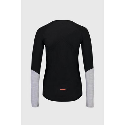 Mons Royale Merino Base Layer Top Bella Tech Black - Latitude